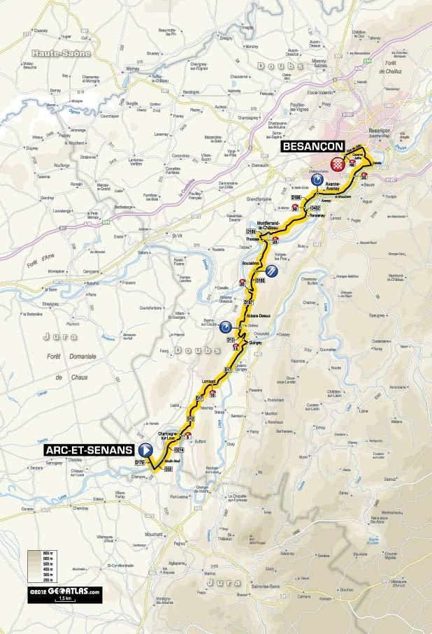 TDF 2012 S9 map