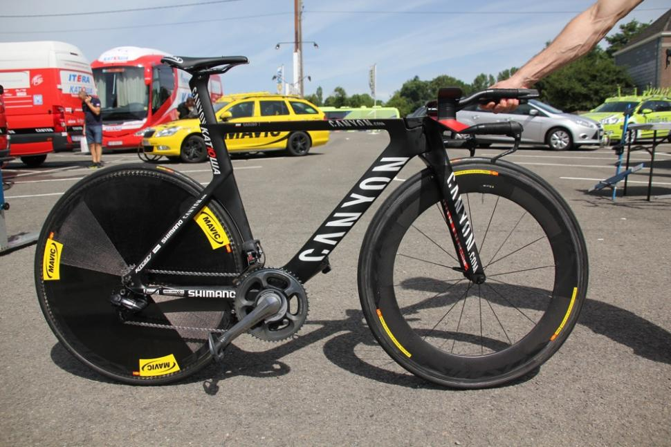Tour Tech 2012 Time Trial Bikes From Canyon Cervelo Cannondale