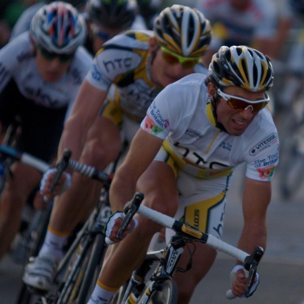 Michael Albasini on his way to winning the 2010 Tour of Britain