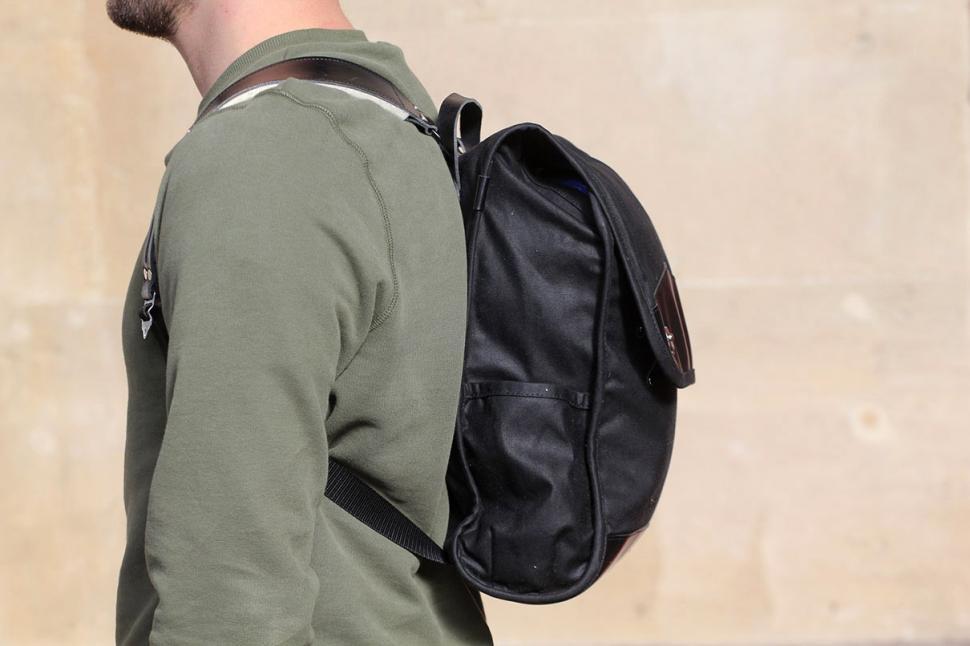 Trakke Findo Backpack - side on