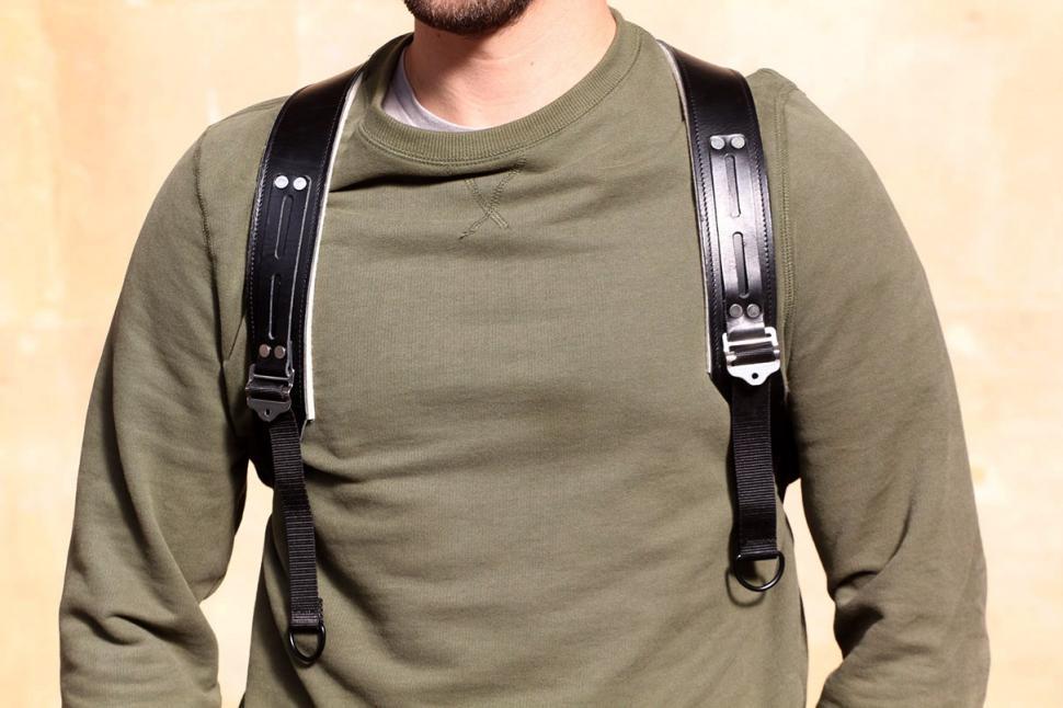 Trakke Findo Backpack - straps worn