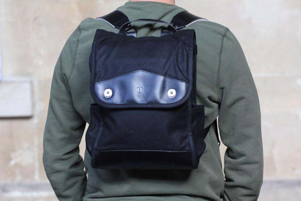 Trakke Findo Backpack - worn