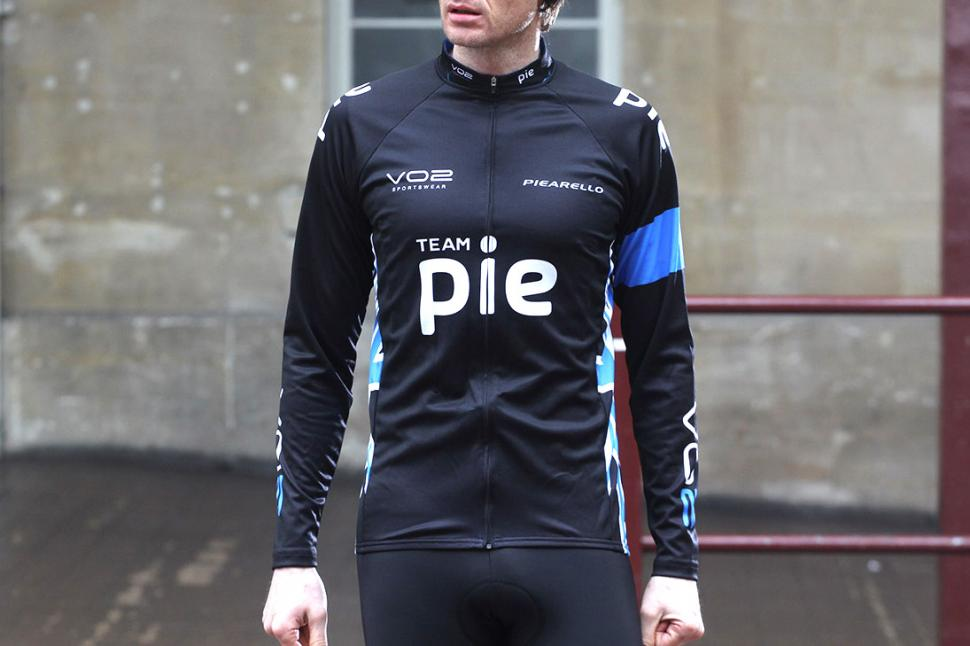 Review Vo2 Sportswear Team Pie Long Sleeve Cycling Jersey