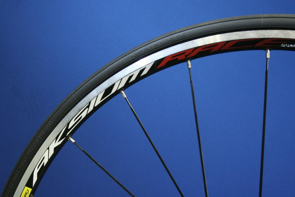 Review Mavic Aksium Wheelset Road Cc