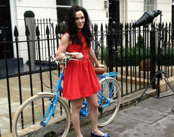 Victoria Pendleton bike launch London