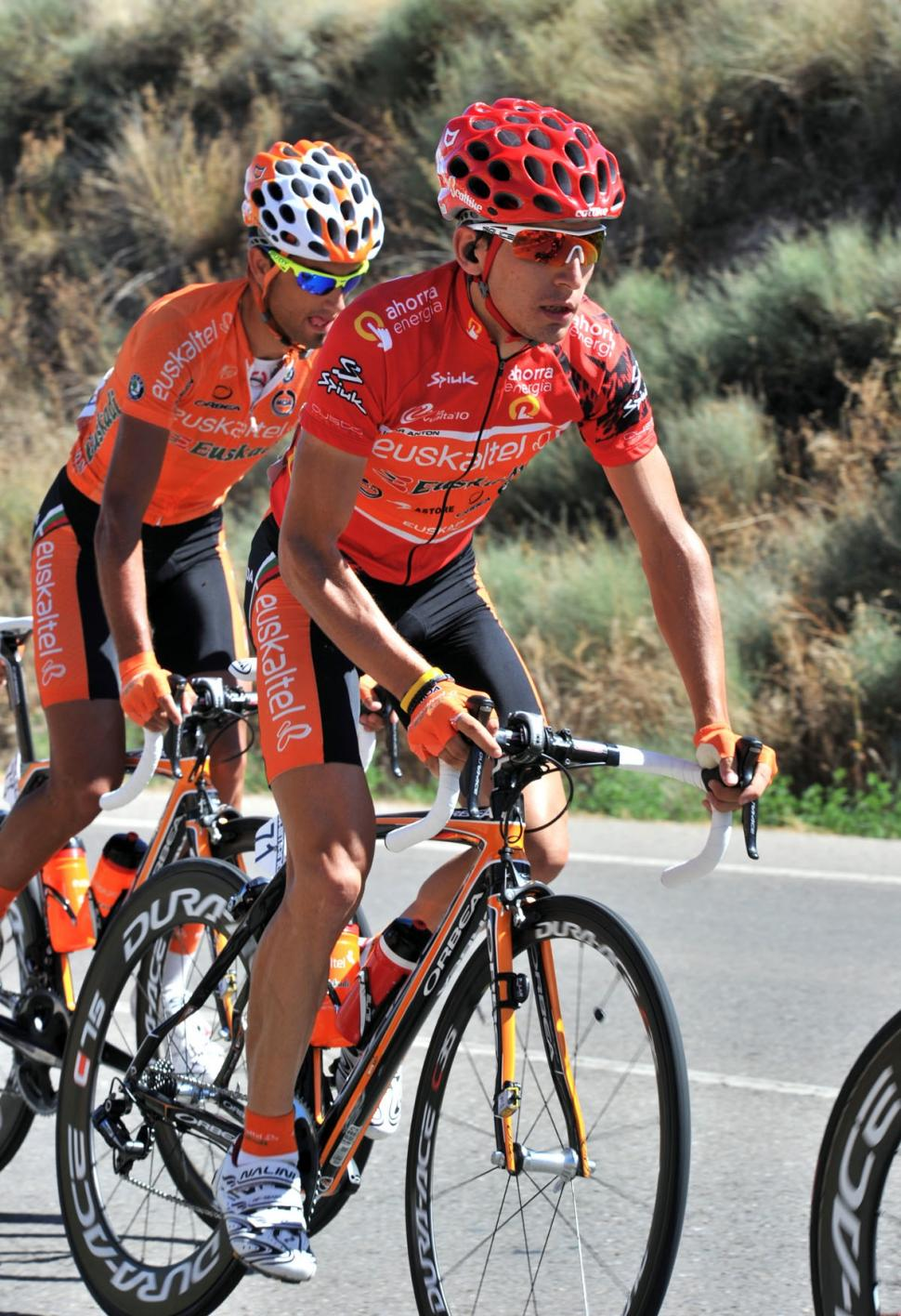 Igor Anton during Stage 13 of the Vuelta (copyright Unipublic:Graham Watson)