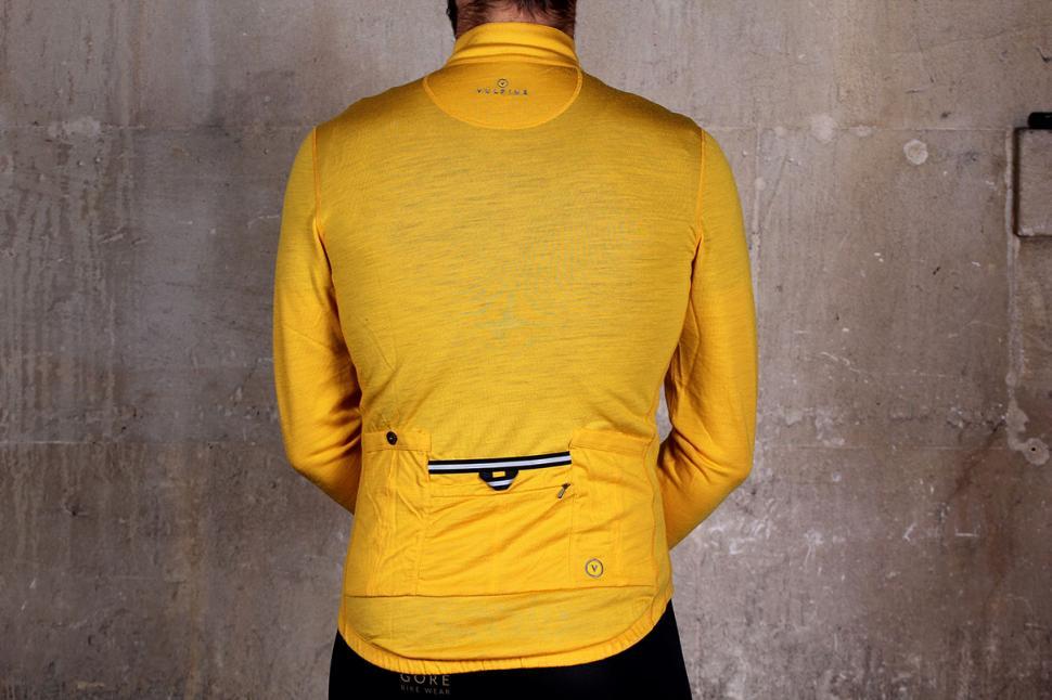 Vulpine Long Sleeve Merino Alpine Jersey - back