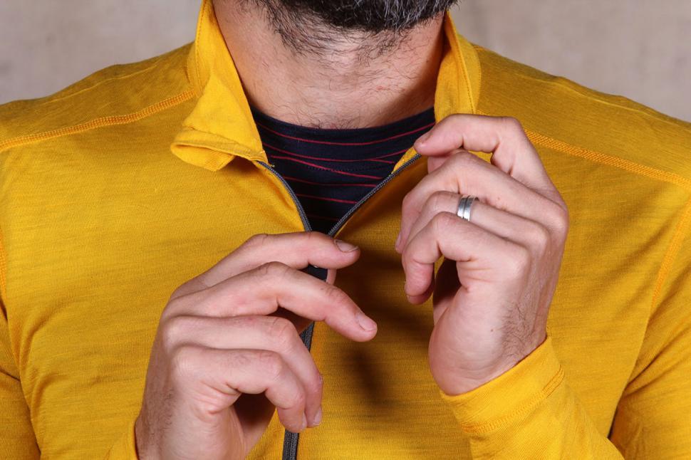 Vulpine Long Sleeve Merino Alpine Jersey - zip