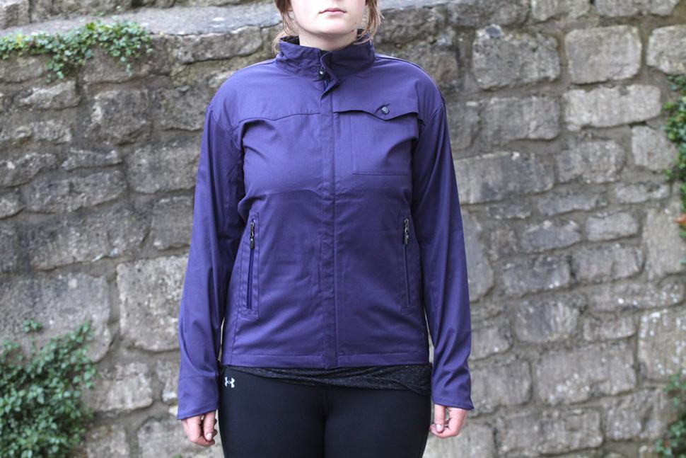 Vulpine Womens Harrington Rain Jacket