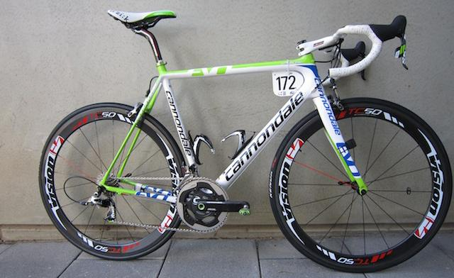 Pro Bike Cristiano Salerno S Cannondale Pro Team Supersix