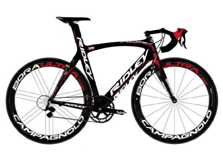 Bikes Of The Uci Worldtour 2012 Ridley Noah Fast Of Lotto Belisol