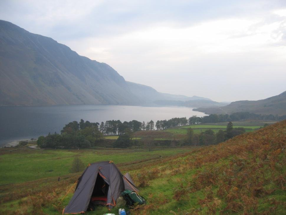 Camping by Wastwater