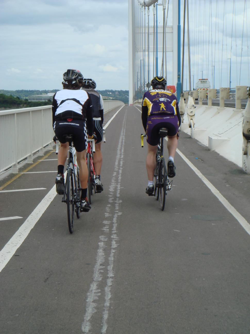Severn Bridge Sportive recce 2