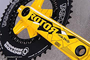 Rotor 3D cranks Tour de France edition [2