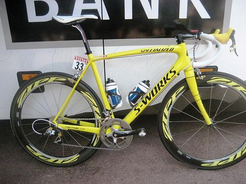 cancellara yello sl3 - full bike
