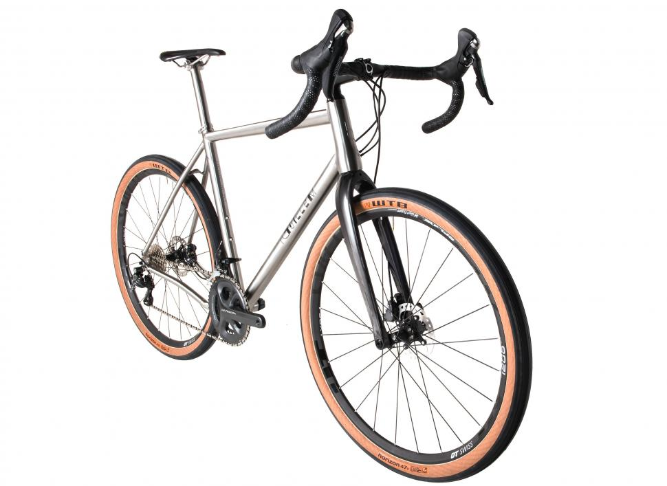 J Guillem Atalaya Titanium Gravel Bike With 700c And 650b