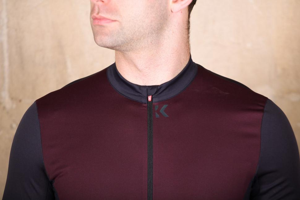 Kalf Flux Transition Men's Wind Proof Jersey - chest.jpg