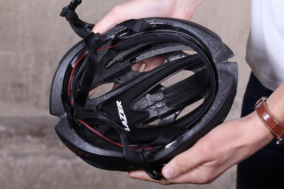 Lazer Genesis matt black medium helmet - inside.jpg