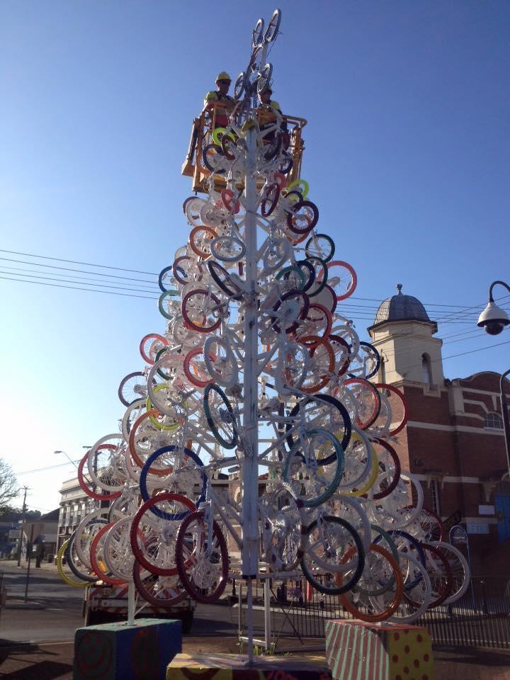 Lismore bike tree (via Facebook)
