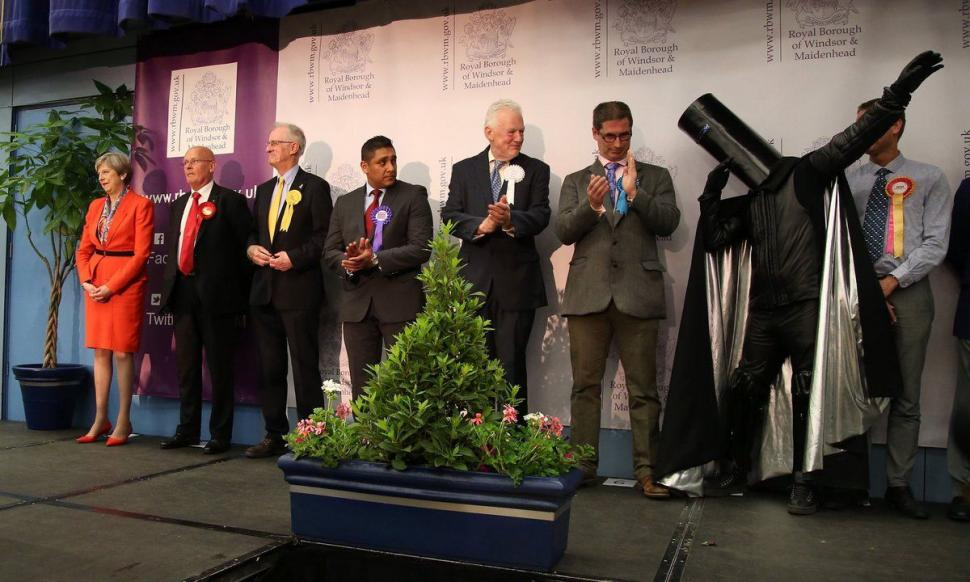 Lord Buckethead Fails To Unseat Theresa May In Maidenhead