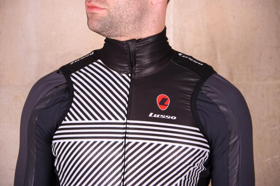 Lusso Stripes Gillet - chest.jpg