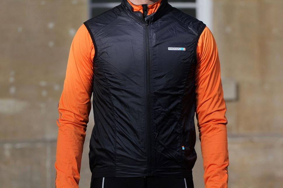 Madison Road Race Mens Windproof Shell Gilet.jpg