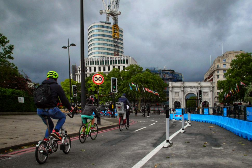 """Cycling UK urges councils to """"be brave"""" over bike lanes"""
