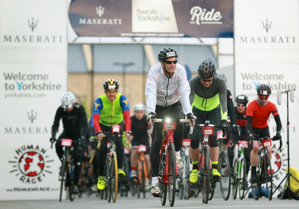 Maserati Tour de Yorkshire Ride start.jpeg