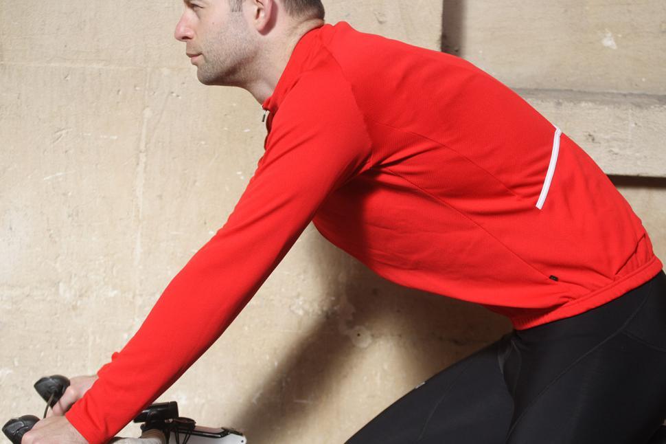 Merlin Core Long Sleeved Cycling Jersey - riding.jpg