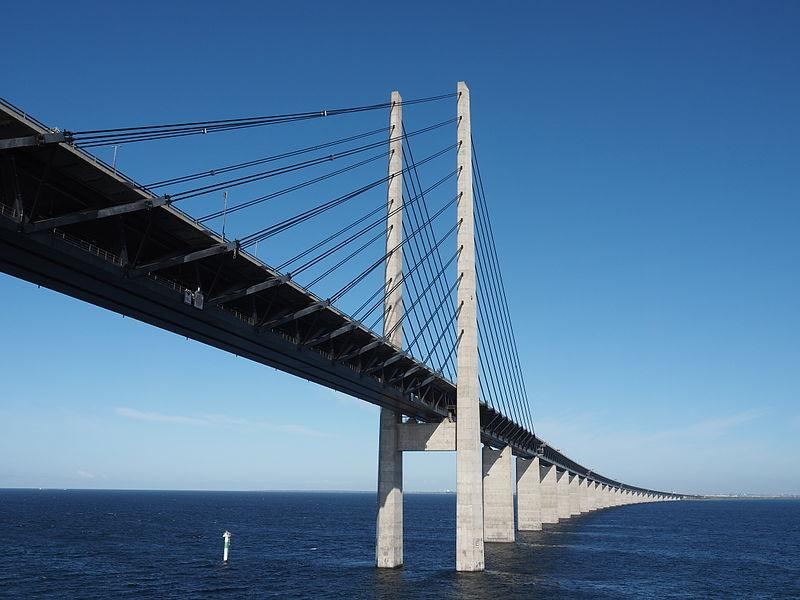 Bridge Linking Denmark And Sweden Closed As Cyclists