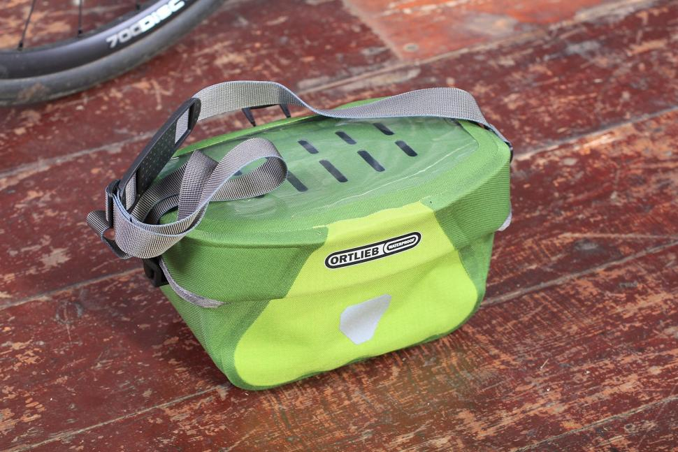 Orlieb Ultimate6 S Plus Waterproof Handlebar bag - off bike.jpg