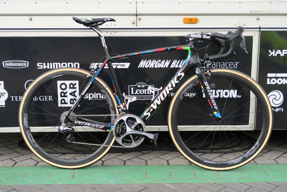 Pro Bike Peter Sagan S Tour Of Flanders Specialized Tarmac
