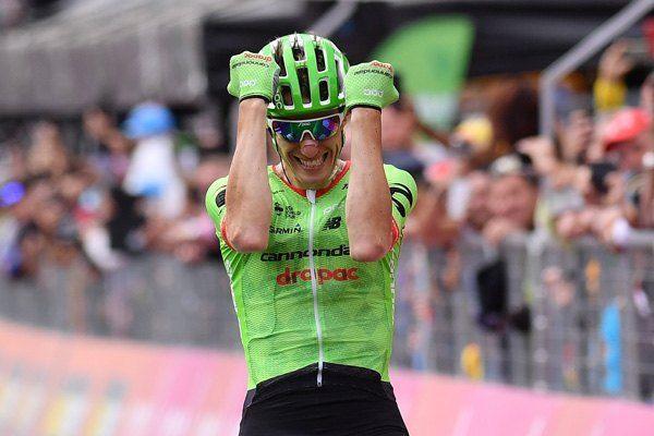 Pierre Rolland wins Stage 17, Dumoulin keeps Giro lead