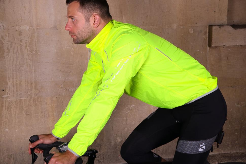 Polaris Strata Waterproof Jacket - riding.jpg