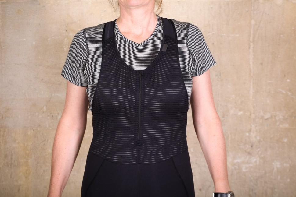 Rapha Women's Brevet Bib Shorts - straps front.jpg