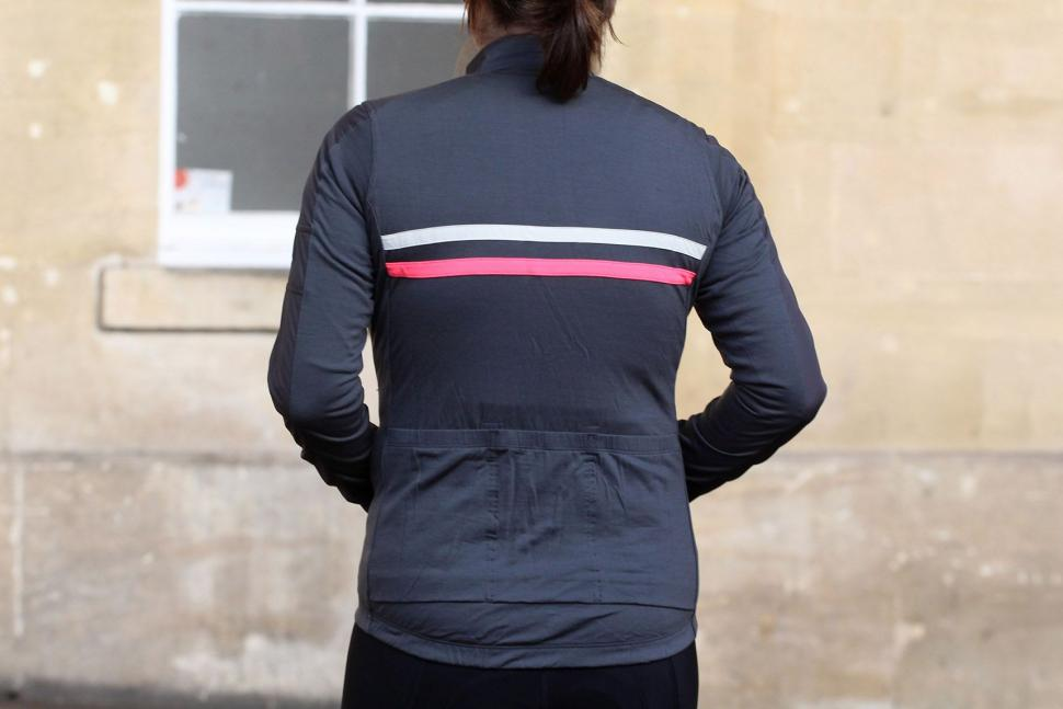 Rapha Womens Brevet Long Sleeve Windblock Jersey - back.jpg