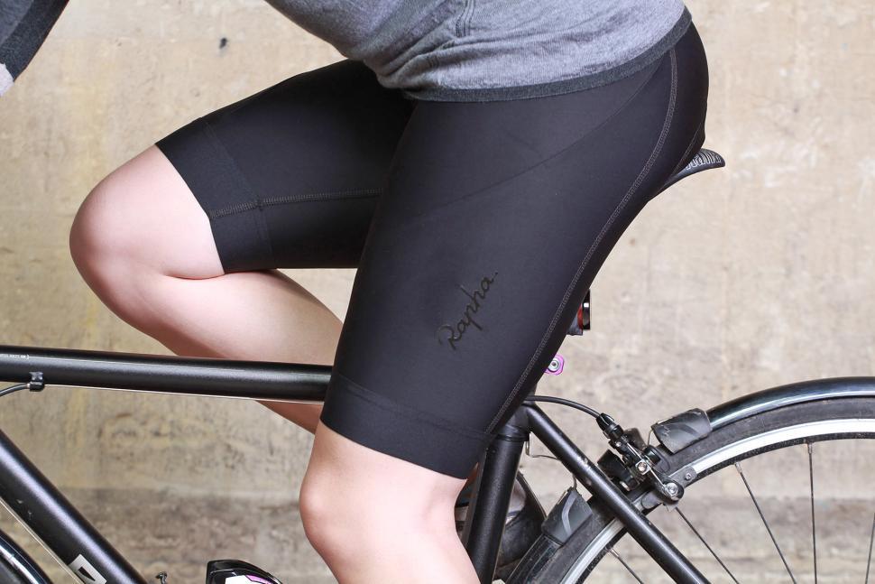 Rapha Womens Core Shorts - riding.jpg