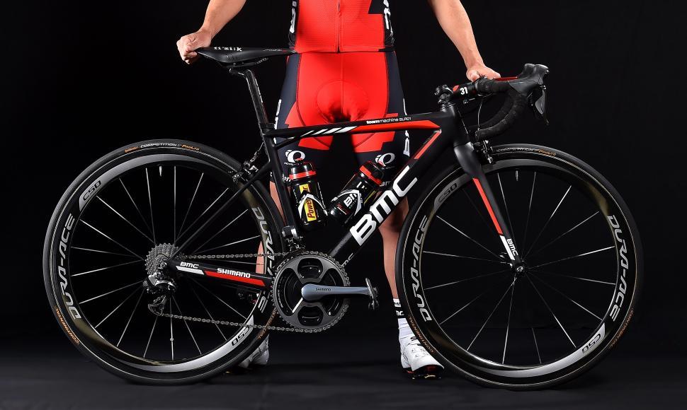 2016 Pro Bike Richie Porte Shows Of His New Bmc