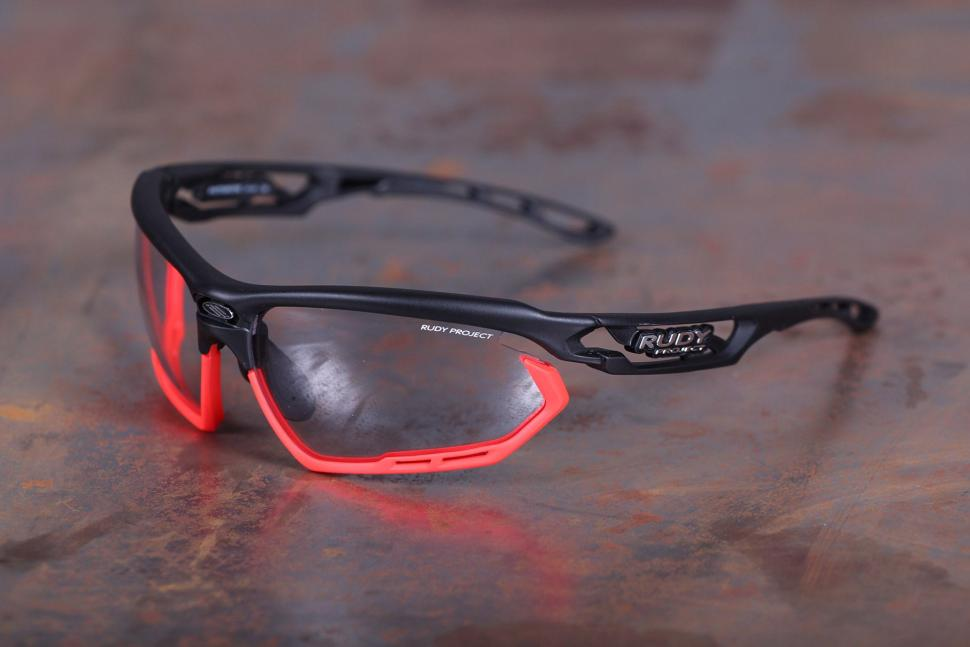 review rudy project fotonyk black matte glasses road cc