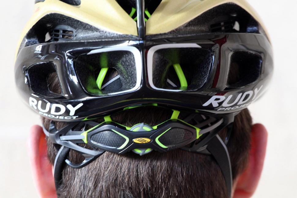 Rudy Project Racemaster Gold Velvet Helmet - rear two.jpg