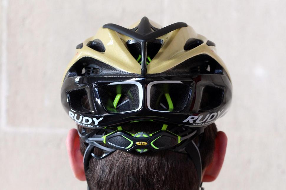 Rudy Project Racemaster Gold Velvet Helmet - rear.jpg