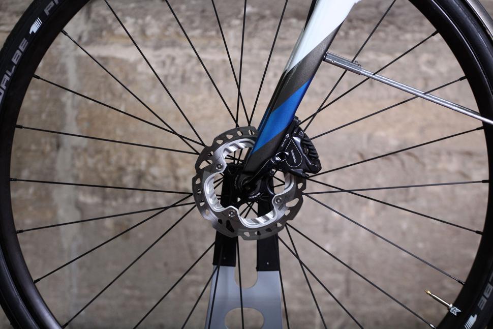 Saffron Frameworks custom winter bike - front disc.jpg