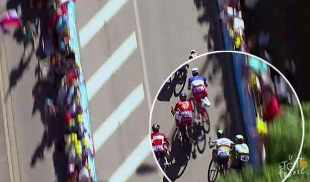Sagan Cavendish TdF 2017 Stage 4 crash.JPG