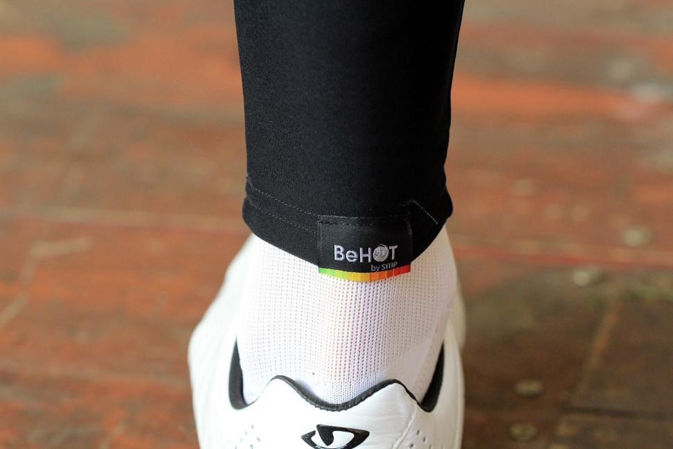 Santini BeHot Leg Warmers - BeHot logo.jpg
