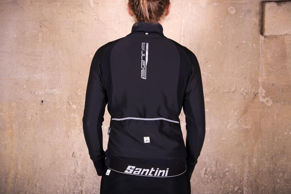 Santini Womens Beta Winter Windstopper Jacket - back.jpg
