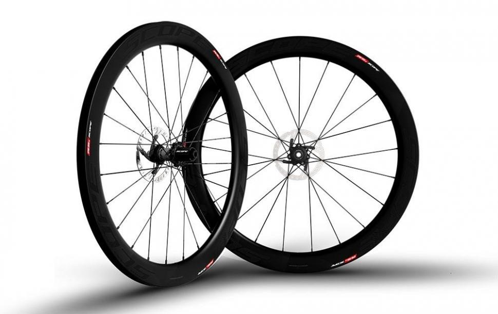 Scope Cycling Launches Disc Brake Tubeless Wheelset Road Cc