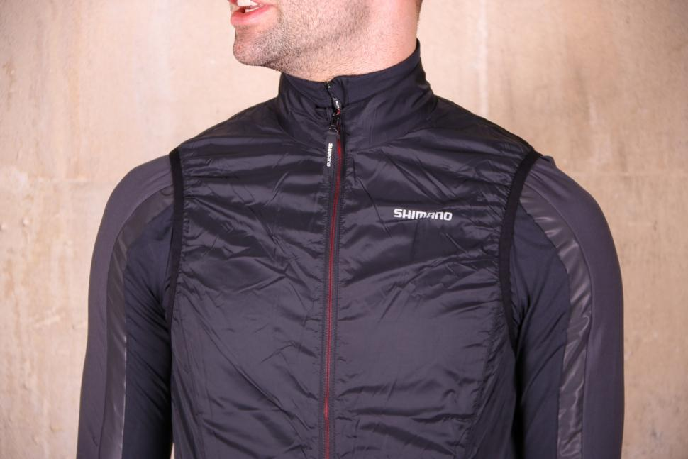 Shimano Mens Compact Wind vest - chest.jpg
