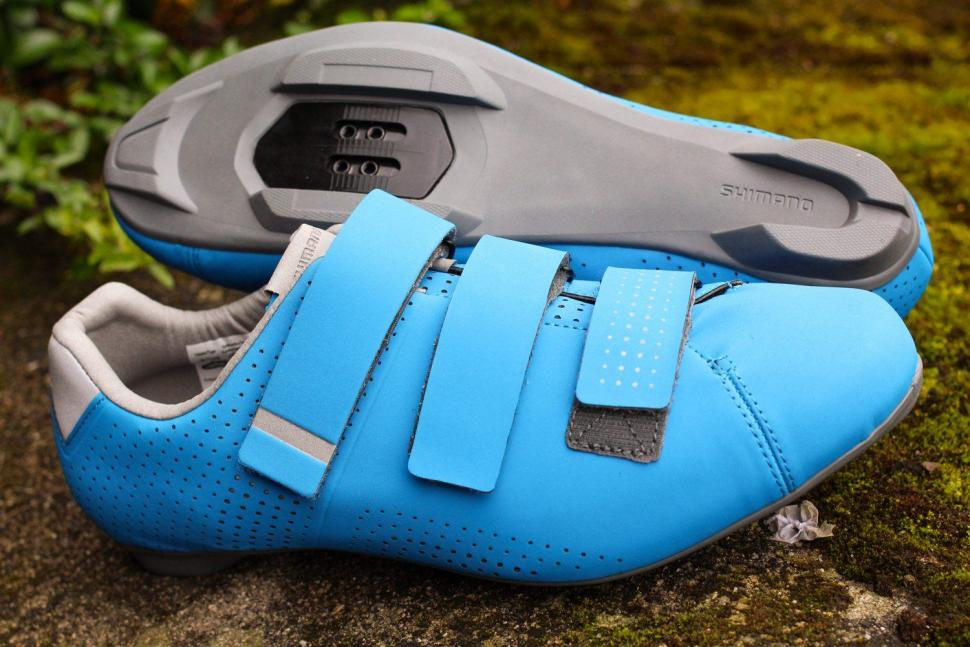 First Look Shimano Rt5 Road Shoes With Recessed Cleats