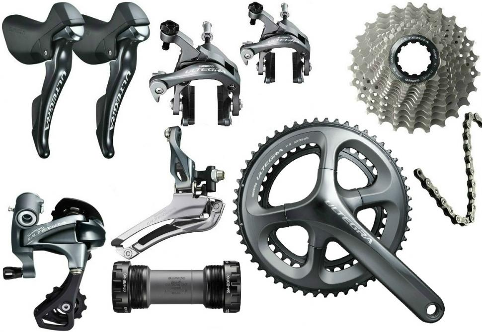 Shimano Ultegra 6800 and Ultegra Di2 6870