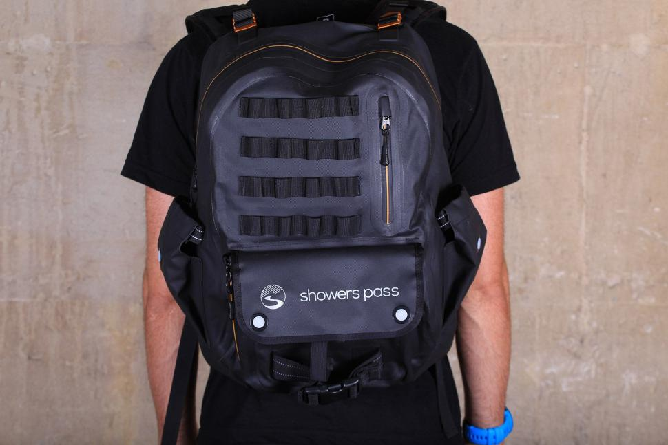 Review: Showers Pass Utility Waterproof Backpack | road.cc